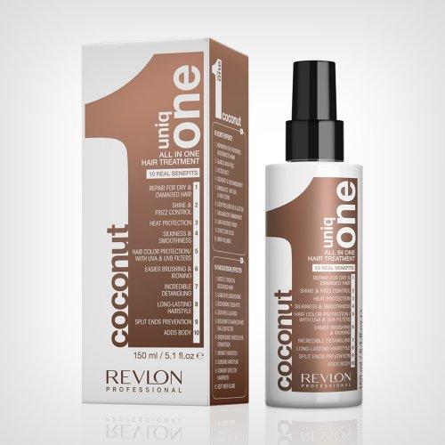 Revlon Uniq One all in one hair treatment Coconut 150ml - Zaštita od sunca