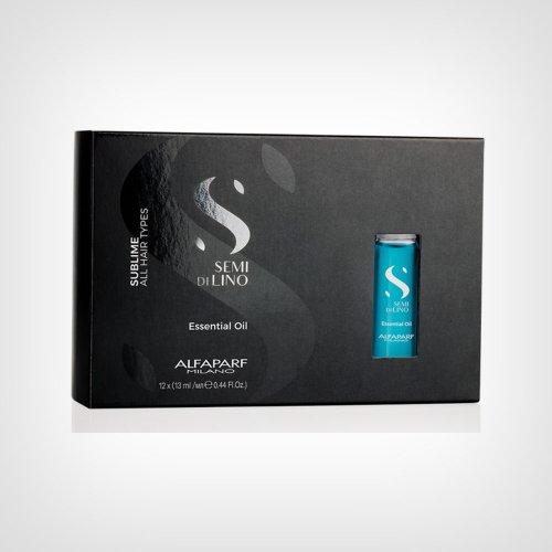 Alfaparf Semi Di Lino Sublime Essential oil ampule 12x13ml - Ampule za kosu