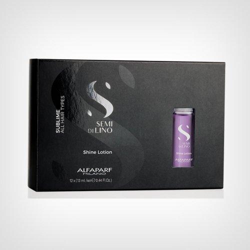 Alfaparf Semi Di Lino Sublime Shine Lotion ampule 12x13ml - Ampule za kosu