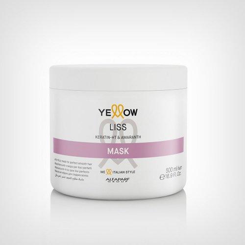 Alfaparf Yellow Liss maska 500ml - Kovrdžava kosa