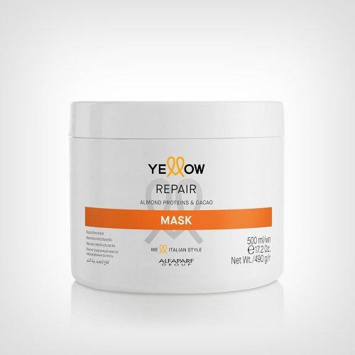 Alfaparf Yellow Repair maska 500ml - Nega farbane kose