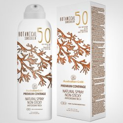 Australian Gold Botanical Sunscreen SPF 50 Natural Spray 177ml