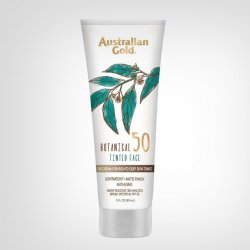Australian Gold Botanical Sunscreen Tinted Face SPF 50 88ml