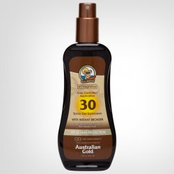 Australian Gold SPF Spray Gel With Bronzer 237ml