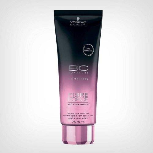 Schwarzkopf Professional Bonacure Fibre Force šampon 200ml - Oštećena kosa