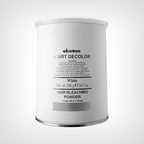Davines L  Art Decolor White Hair Bleaching Powder blanš 500gr - Koloracija