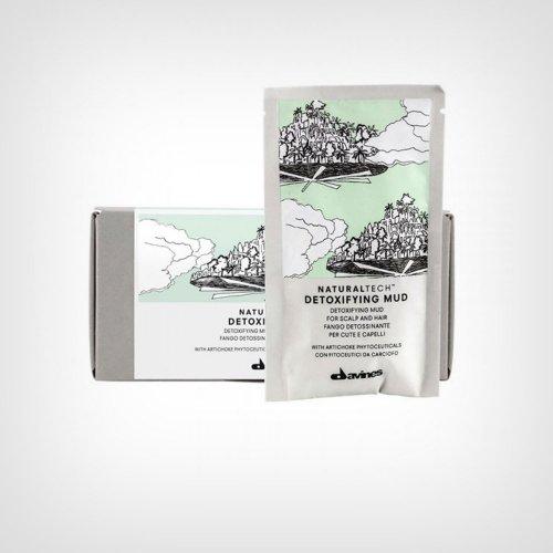 Davines Naturaltech Detoxifying Mud glina 6x50ml - Perut/Gubitak kose/Masnoća
