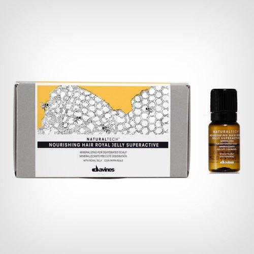 Davines Naturaltech Nourishing Hair Royal Jelly Superactive ampule 6x8ml - Ampule za kosu