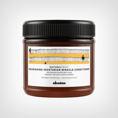 Davines Naturaltech Nourishing Vegetarian Miracle conditioner - Nega suve kose