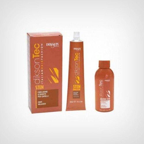 Dikson Sten emulzija za trajno ravnanje kose 100 ml + 120 ml neutralizator - Oštećena kosa