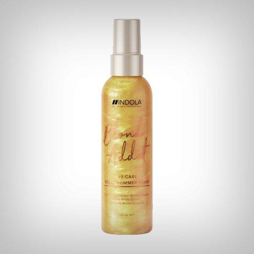INDOLA Exclusively Professional Innova Blond Addict Gold Shimmer Spray regenerator u spreju 150ml - Bojena kosa