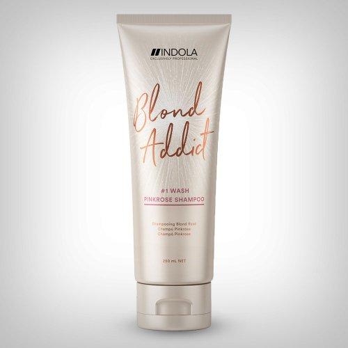 INDOLA Exclusively Professional Innova Blond Addict Pink Rose šampon 250ml - Bojena kosa