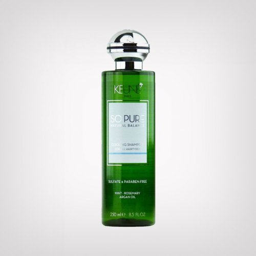 Keune So Pure Cooling šampon - Nega suve kose
