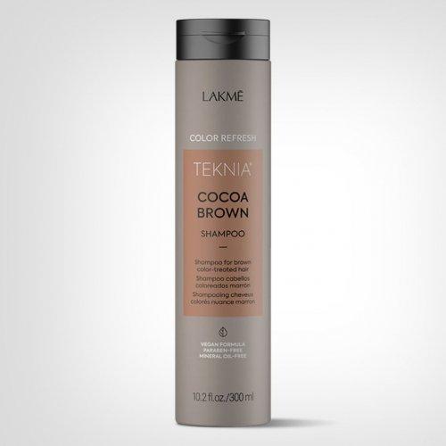 Lakmé TEKNIA Refresh Cocoa Brown šampon 300ml - Nega farbane kose