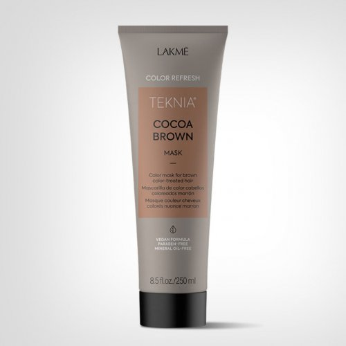 Lakmé TEKNIA Refresh Cocoa Brown tretman 250ml - Nega farbane kose