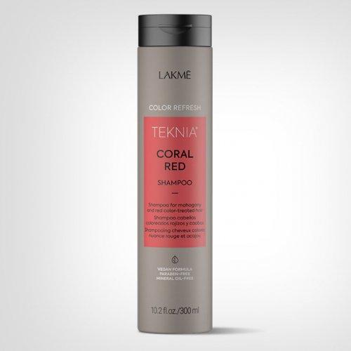 Lakmé TEKNIA Refresh Coral Red šampon 300ml - Nega farbane kose
