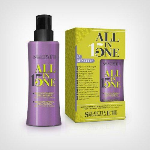 Selective Professional All In One 15 u 1 sprej maska za regeneraciju i ispravljanje kose 150ml - Nega suve kose