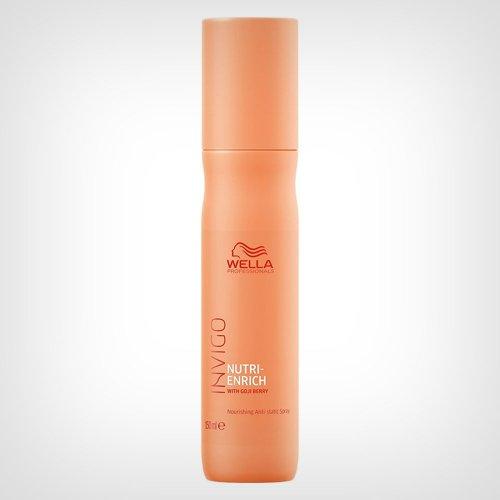 Wella Professionals Invigo Nutri Enrich Antistatic Spray 150ml - Nega suve kose
