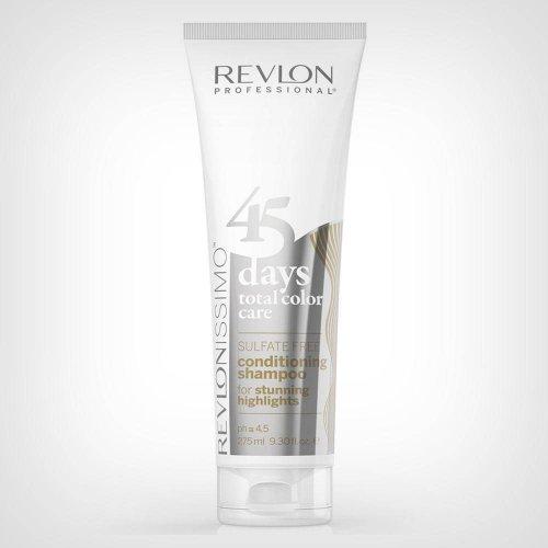 Revlon R45 šampon i regenator for stunning highlights 275ml - Nega farbane kose
