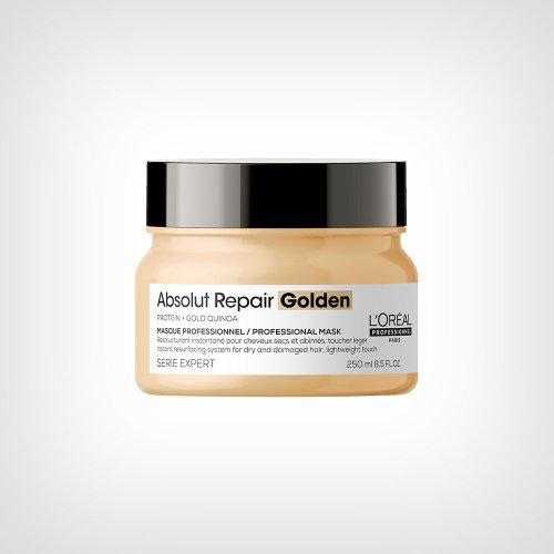 L`Oréal Professionnel SE Absolut Repair Gold Quinoa + Protein maska za kosu 250ml - Kovrdžava kosa