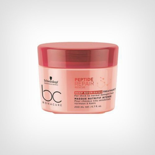 Schwarzkopf Professional BC Peptide Repair Rescue Deep Nourshing maska 200ml